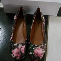 Nib 100% Auth Givenchy Rose Camouflage Print Leather Ballet Flats Shoes 35.5 Photo