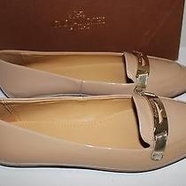 Nib 198 Coach Size 6 Women's Warm Blush 100% Patent Leather Ruthie Flat Loafer Photo