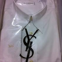 Nib295 Yves Saint Laurent Pour Homme(ysl) Luxury Italian Dress Shirt  16/41  Photo