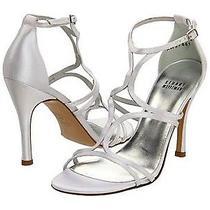 Nib 389 Stuart Weitzman Tracking Wedding Bridal Strappy Heels Open Toe Shoes 11 Photo