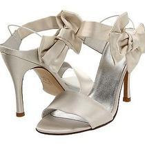 Nib 398 Stuart Weitzman Bigbow Wedding Bridal Heels Open Toe Sandals Shoes  95 Photo