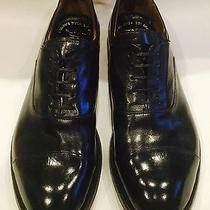 Nib 665 Officine Creative High-Shine Leather Oxfords in Black Sz 40 Photo