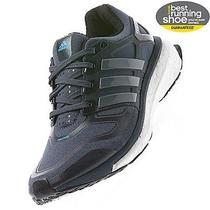 Nib All New Adidas Womens Energy Boost 2.0 Gray Onyx Blue Sz 8.5 Fantastic Shoes Photo