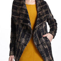 Nib Anthropologie Modernist Shawl-Collar Coat Jacket Size S by Funktional  Photo