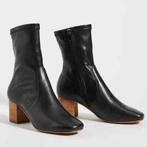 Nib Anthropologie Silent D Cabre Boots  Black Size Eu 40 Photo