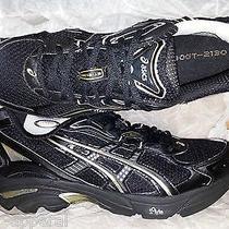 Nib Asics Gt 2130 Onyx/black Mens Running Shoes Size 9.5 Photo