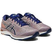 Nib Asics Women Gel-Cumulus 21 Running Shoes Violet Blush/dive Blue Sz 9.5 b(m) Photo
