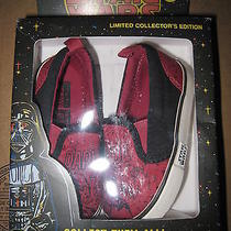 Nib Baby Gap Boys Junk Food Star Wars Darth Vader Slip on Shoes Size 6 Photo
