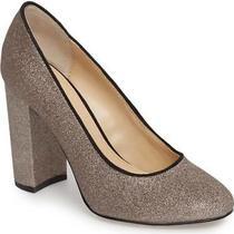 Nib Botkier New York Valentina Pump Heel Blush Glitter Us Size 8 Great Gift  Photo