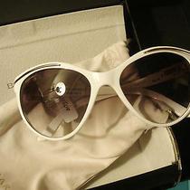 Nib Bulgari Mediterranean Nights Sunglasses 8088b Ultra Rare White Mint Photo