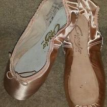 Nib Capezio Tiffany 126 European Pink Ballet Toe Pointe Shoes Size 9m 9 Medium Photo