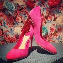 Nib Christian Dior Suede Pump With See Through Heels 39.5 9 9.5 680 Photo