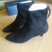 Nib Cole Haan Womens Harlow Stretch Bootie Leather Pointed Ankle Boots Size 9  Photo