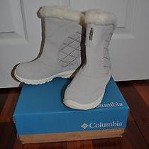 Nib Columbia Snow Boots Sz 3 Gray Photo