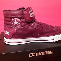 Nib Converse All Star Ct Primo Hi Burgundy Men's Sz 12 Basketball Leather Shoes Photo