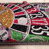 Nib Crystal Evening Bag Clutch Hand Bag Made W Swarovski Elements Roulette Table Photo
