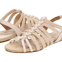 Nib Elie Tahari Gaspen Sandal Women's 9  39  French Vanilla Beige Sandals 198 Photo