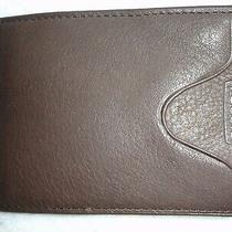 Nib Fossil Genuine Leather Men's Wallet-Bifold Flip Clip Brown / Ml5571200  Photo