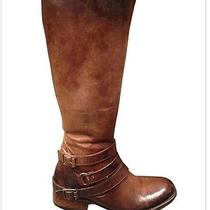 Nib Freebird by Steven Irish Bovine Leather Boots Cognac 8 Msrp 295 Nib Photo