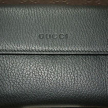 Nib Gucci Black Leather Wallet Made in Italy Photo