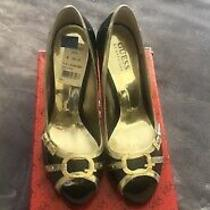 Nib Guess by Marciano Black Multi Patent Pumps Womens Size 7.5 Photo