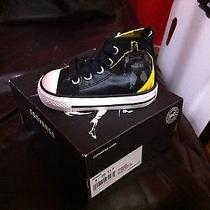 Nib Infant Size 4 Batman Converse Shoes Photo