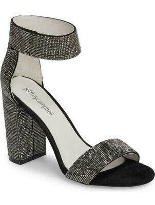 NIB Jefrey Campbell Lindsay Crystal Sandals Size 8 $160.00 Photo