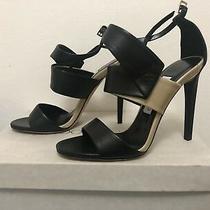 Nib Jimmy Choo London Hi Heel Stiletto Open Toe Strapy Sandals Size 37 Photo
