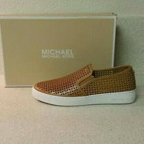 Nib Michael Kors Olivia Perforated Slip-on Sneaker Peanut Size 10m Photo
