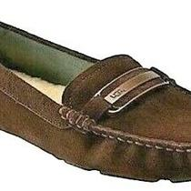 Nib New Ugg Australia Roam Slippers Moccasins Shoes Espresso / Chocolate Brown 5 Photo