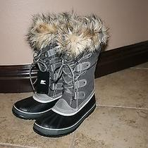 Nib New Women's Sorel Joan of Arctic Boots Size 9.5 Shale Photo