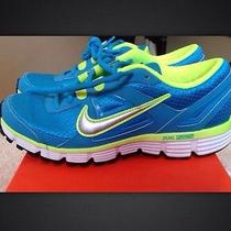 Nib Nike Running Shoes Womens Size 7 Blue Green Sneakers Nike Dual Fusion Photo