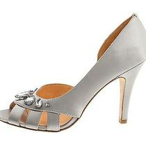 Nib Pour La Victoire Wedding Bridal Shoes Jamison Rhinestone