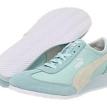 Nib Puma Women's Caroline Wedge Fashion Clearwater Blue Sneaker Size 10 Photo