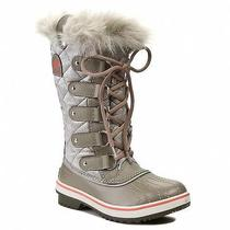 Nib Sorel Tofino Organza Waterproof Leather Canvas Insulated Boots Sz 10 Photo