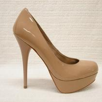 Nib Steve Maddencaryssablush Patent Platform Pumps 10m Photo