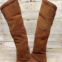 Nib Suede Candela Ivy Over the Knee Suede Boots 363 Photo