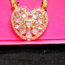 Nib  Swarovski Elements  Argento-Crystal Heart Shaped Hairband. Mint Photo