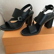 Nib Tod's Donna Sandal T90 Ye Fibbie Nero (Black)  Size 38 Photo
