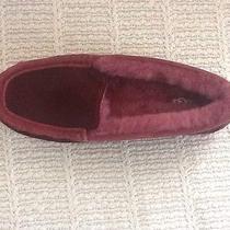 Nib Ugg Australia 'Ansley Exotic' Burgund Women's Slippers 8- 39 Photo