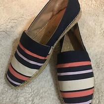 Nib Ugg Womens Flats Loafer Renada Stripe Navy Size 11 Photo