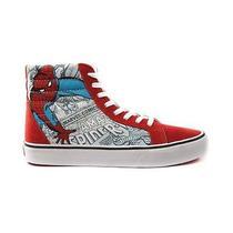 Nib Vans X Marvel Sk8 Hi Spider-Man Peter Parker Comics Sz m6.5/w8  Photo