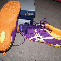Nib Women's Asics Gel-Fortius Tr Athletic Shoes Size 12 Grape/white/neon Orange Photo