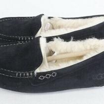 Nib Womens Ugg Ansley Black Slipper- Size 5-Msrp 100- 3312 Photo