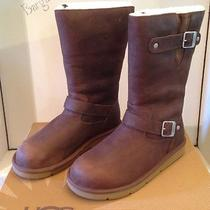 Nib Womens Ugg Australia Kensington Toast Brown Boots 5678 Us Size 11 New Rare Photo