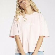 Nicce Small Logo Crop Pink Blush T-Shirt 25.00 Size Large Jd Sports Photo