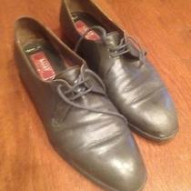 Nice Bally Castello Dress Shoes Vintage Grey 10.5 Stacy Adam Dance Tango Leather Photo