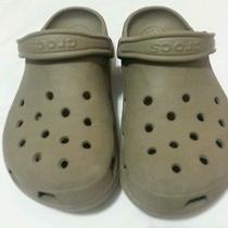 Nice Beige Crocs  Photo