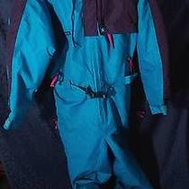 Nice Blue Purple Fucshia Columbia Radial Sleeve Ski Snowboard Snowsuit Sz L Photo