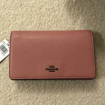 Nice Coach 87401 Hayden Foldover Crossbody Clutch Htf Vintage Pink Nwt Photo
